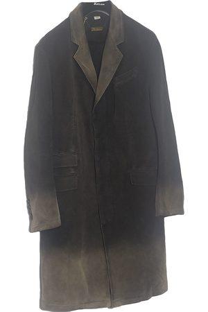 John Galliano Khaki Cotton Coats