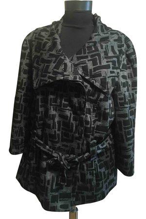 Sandro Grey Viscose Trench Coats