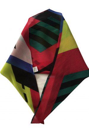 Issey Miyake Multicolour Silk Scarves