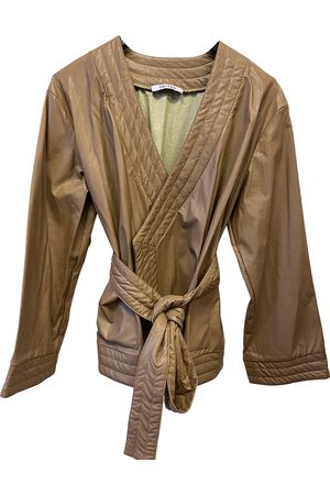 DEITAS Women Jackets - Camel Synthetic Jackets