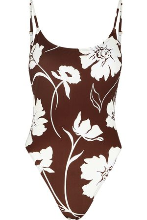 Tory Burch Floral-print swimsuit
