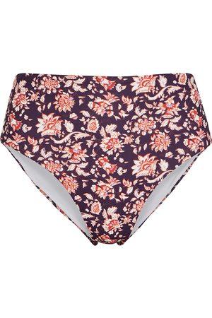VERONICA BEARD Azoia floral-print high-rise bikini briefs