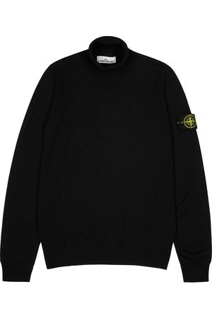 Stone Island Roll-neck wool jumper