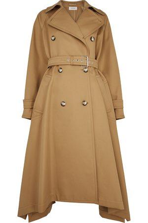 Sportmax Zamia double-breasted twill trench coat