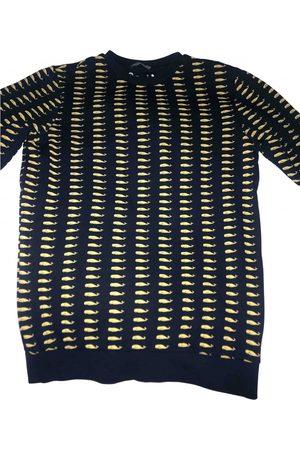 Mauro Grifoni Navy Cotton Knitwear & Sweatshirts