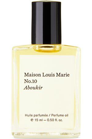 Maison Louis Marie Fragrances - No. 10 Aboukir Perfume Oil, 15 mL