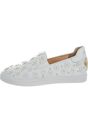 Isa Tapia Leather Trainers