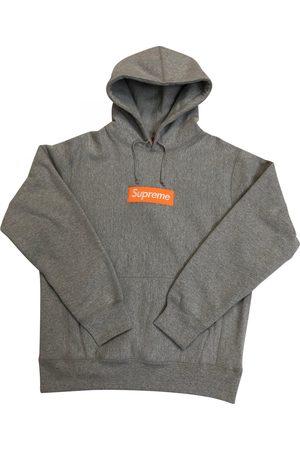 Supreme Grey Cotton Knitwear & Sweatshirts