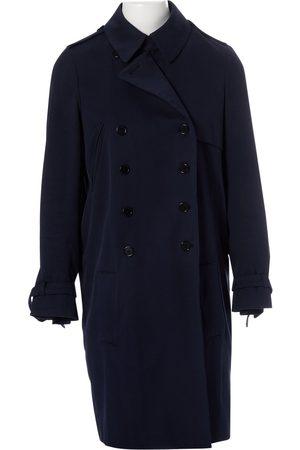 Alexander McQueen Navy Cotton Trench Coats