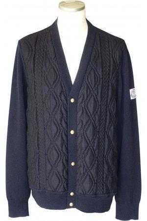 Moncler Navy Wool Knitwear & Sweatshirts