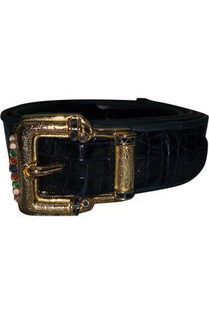 Judith Leiber Crocodile Belts