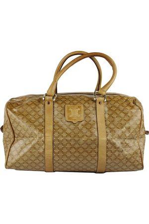 Céline Leather bowling bag