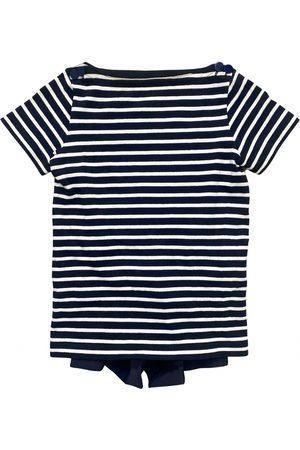 SACAI Navy Cotton Top
