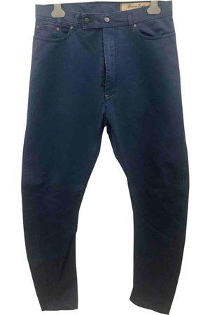 Vivienne Westwood Navy Cotton Trousers