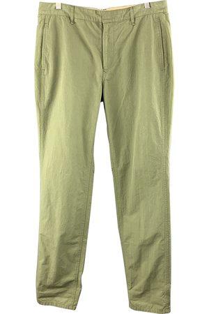 RAG&BONE Khaki Cotton Trousers