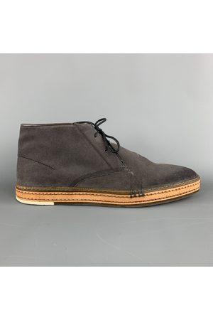 Berluti Grey Suede Boots