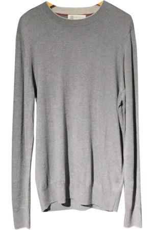 Brunello Cucinelli Grey Wool Knitwear & Sweatshirts