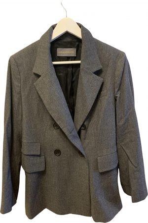 innamorato Grey Wool Jackets