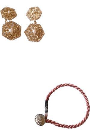 ROSANTICA Plated Earrings