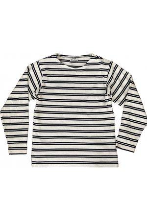 Acne Studios Ecru Cotton Knitwear & Sweatshirt