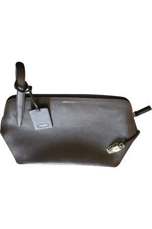 Agnona Leather Clutch Bags