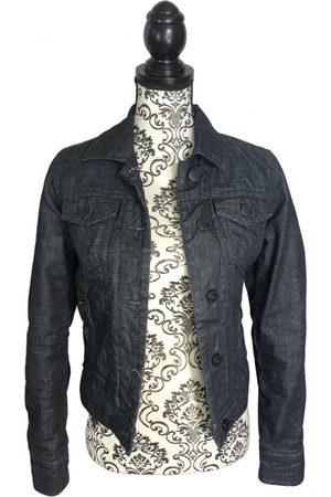 VICTORIA CASAL Women Denim Jackets - Navy Denim - Jeans Jackets