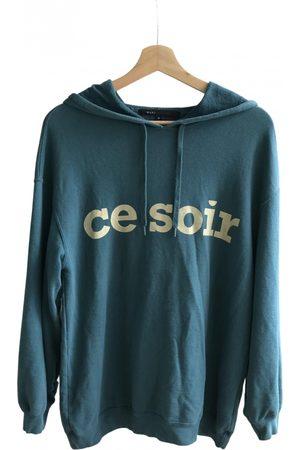 Marc Jacobs Turquoise Cotton Knitwear & Sweatshirts