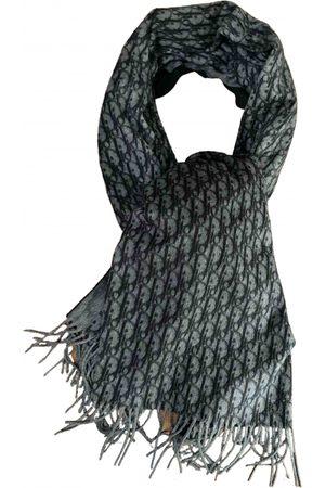 Dior Men Pocket Squares - Grey Silk Scarves & Pocket Squares