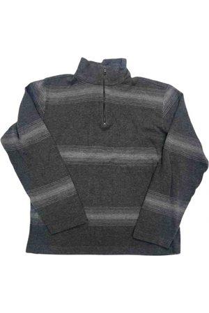 Nautica Grey Cotton Knitwear & Sweatshirt