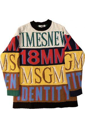 Msgm Multicolour Knitwear & Sweatshirt