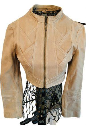 Bebe Leather short vest