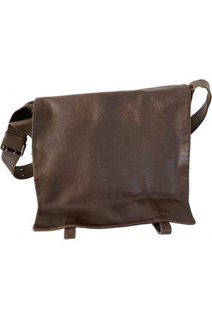 Bottega Veneta Men Travel Bags - Leather weekend bag