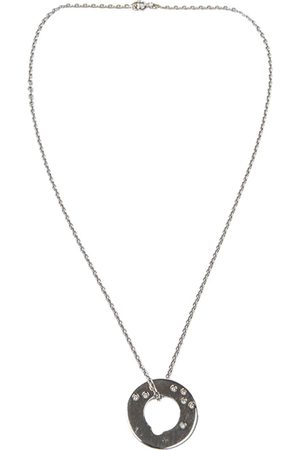 DINH VAN White gold Necklaces