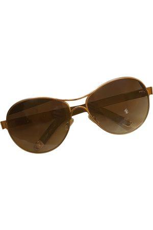 Chloé Khaki Metal Sunglasses