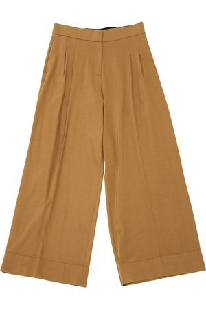 SPACE STYLE CONCEPT Camel Wool Trousers