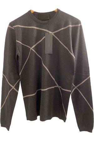 Les Hommes Grey Wool Knitwear & Sweatshirts