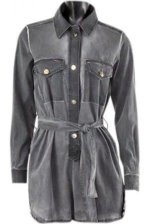 Chloé Grey Cotton Jumpsuits