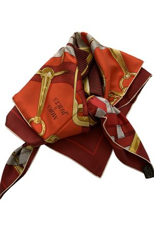 Hermès Carré Géant silk 140 silk neckerchief