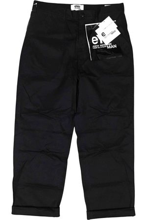 JUNYA WATANABE Navy Cotton Trousers