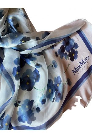 Max Mara Multicolour Silk Scarves