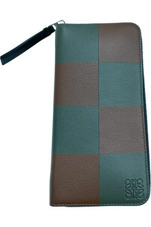 Loewe Men Wallets - Leather small bag