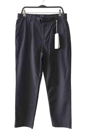 Saturdays NYC Anthracite Cotton Trousers