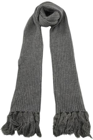 A.P.C. Grey Wool Scarves