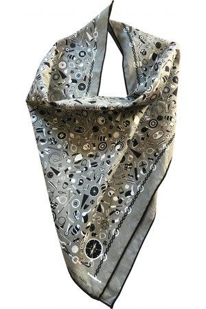 Hermès Grey Cotton Scarves
