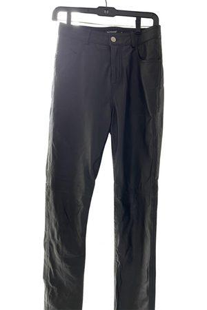 Deadwood Leather Trousers