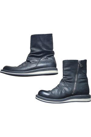 John Varvatos Leather Boots