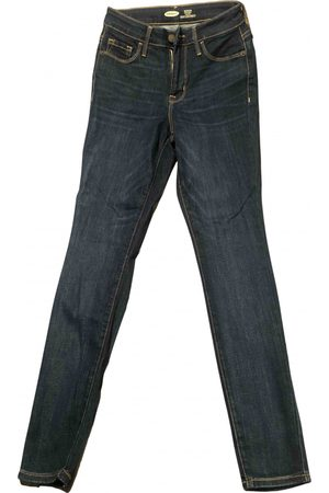 OLD NAVY Navy Cotton Jeans