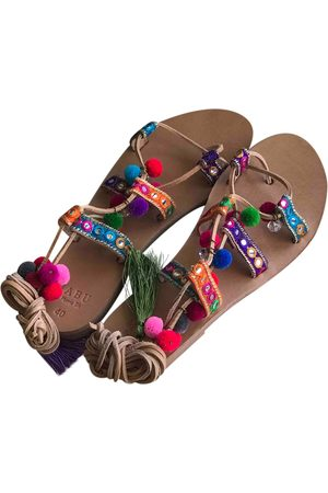 Mabu by Maria BK Multicolour Leather Sandals