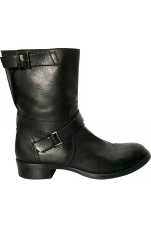 DIEGO DOLCINI Leather biker boots