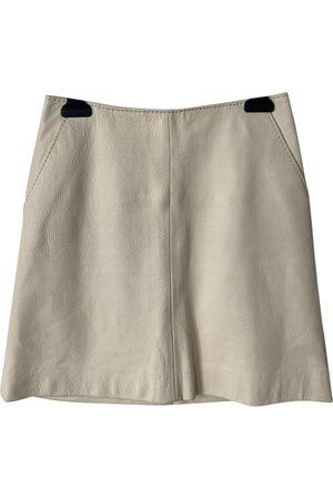 Bally Leather mini skirt